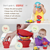 The Grapple - Tether Your Tot's Toys!