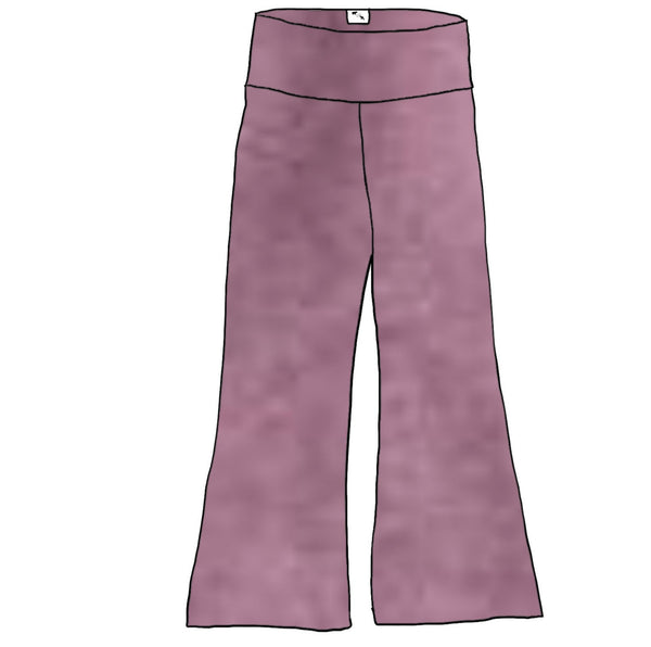 Mauve Orchid Heather YOGA - Women's Freestyle Pants