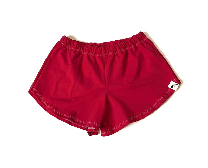 Crimson Yoga- Women's Shorties