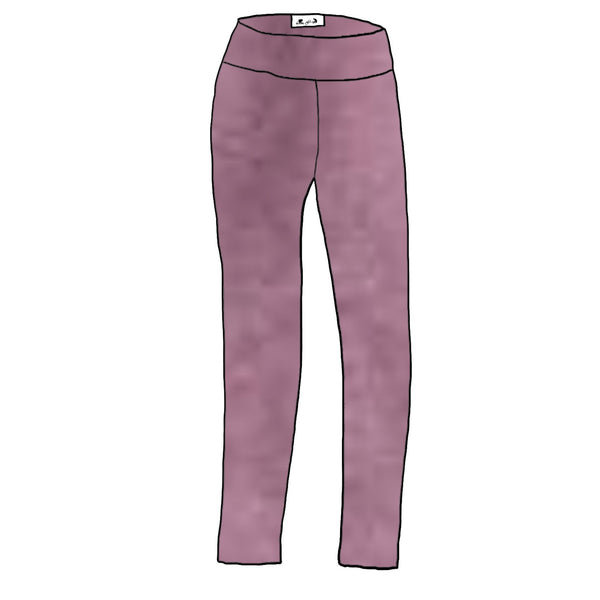 Mauve Orchid Heather YOGA  - Women's Leggings