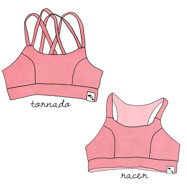Sunset Heather Yoga - Sports Bra