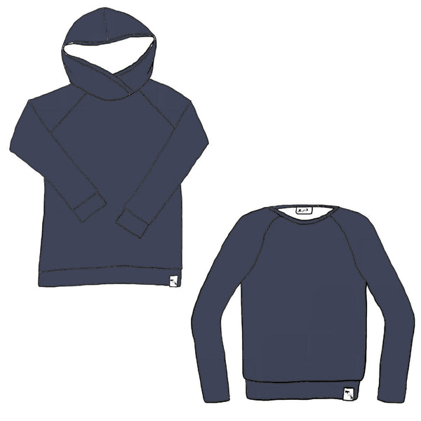 Haze Blue AIR ATHLETIC - Men's Sweater (2 styles)