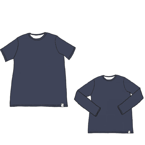 Haze Blue AIR ATHLETIC - Men's Essential tee