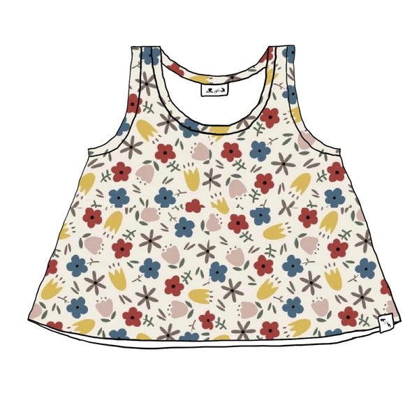 Meadow SLUB FRENCH TERRY - Lil Sunny Tank