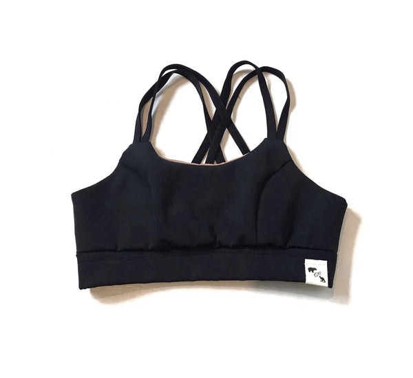 Black Yoga Flex - Sports Bra