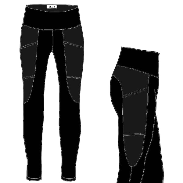 Black TUNDRA Athletic - Women's Arrowhead Leggings