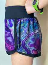 Hypnotic Stretch Woven - Lil Mile Shorts