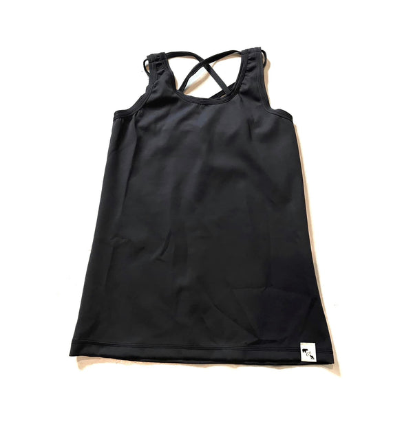Black YOGA FLEX - Tornado Tank