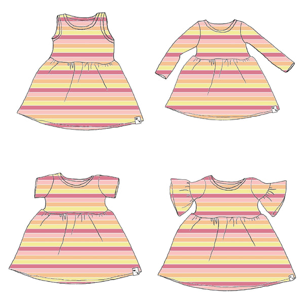 Party Stripes - Play Dress