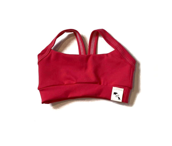 Margarita Pink Yoga - Lil Sports Crop