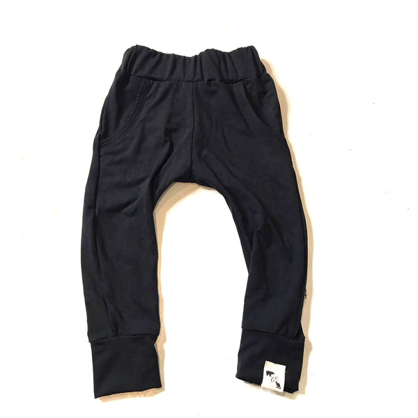 Black Yoga - Pocket Joggers