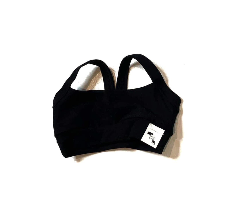Black Yoga Luxe - Lil Sports Crop