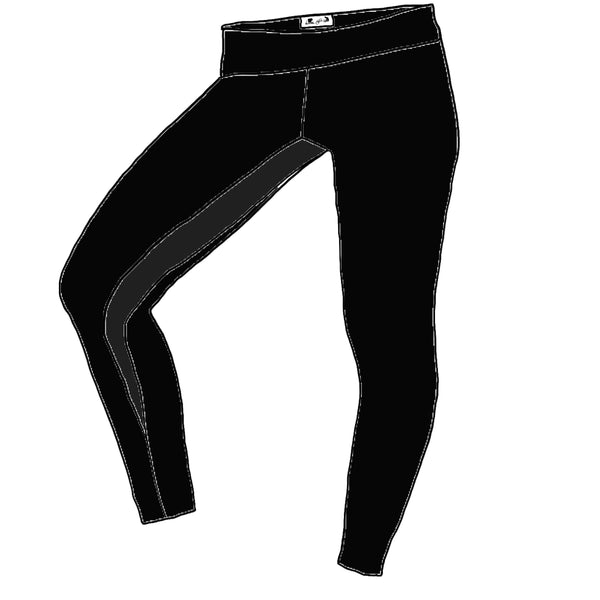Black YOGA FLEX - Women's TEMPO Leggings
