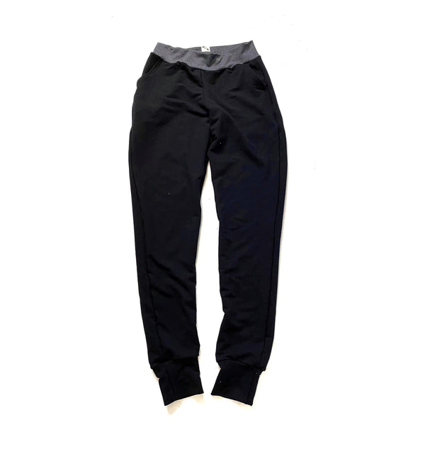 Basic Black - Women's Lakeside Joggers / Shorts