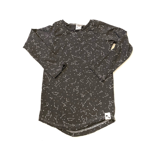 Graphite Constellations SLUB - Lil Essential Tee/tank