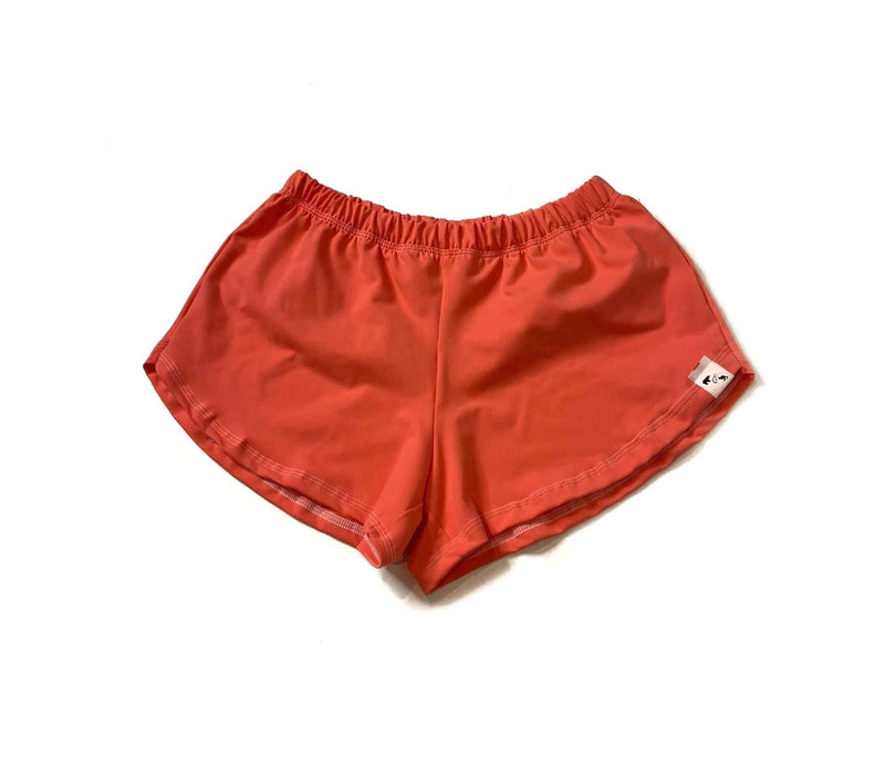 Vivid Coral Yoga - Women's Shorties