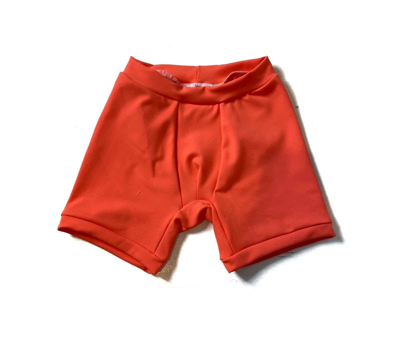 Vivid Coral YOGA - Lil Bear Briefs