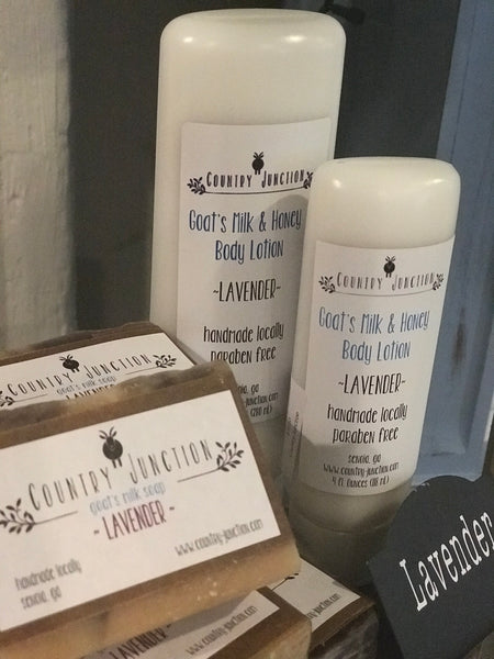 4 oz. Goat's Milk & Honey Body Lotion