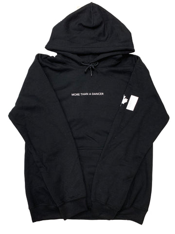 "LIMITED EDITION HOODIE - ""More Than A Dancer"" Black Hoodie - Underground Gear Shop"