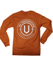 Orange Long Sleeve T-Shirt - Underground Gear Shop