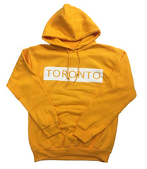 White on Yellow Underground Hoodie - Underground Gear Shop