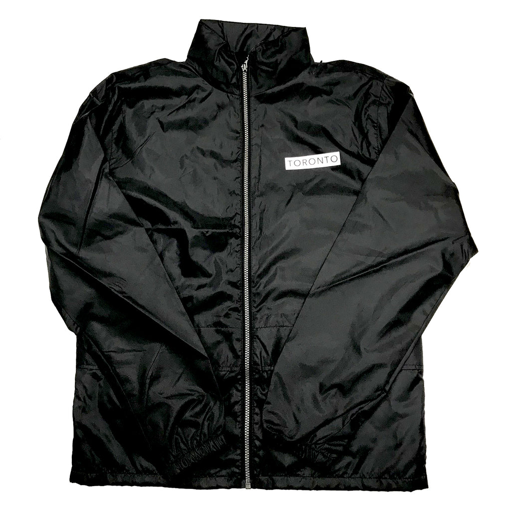 Black Underground Windbreaker Jacket - Underground Gear Shop