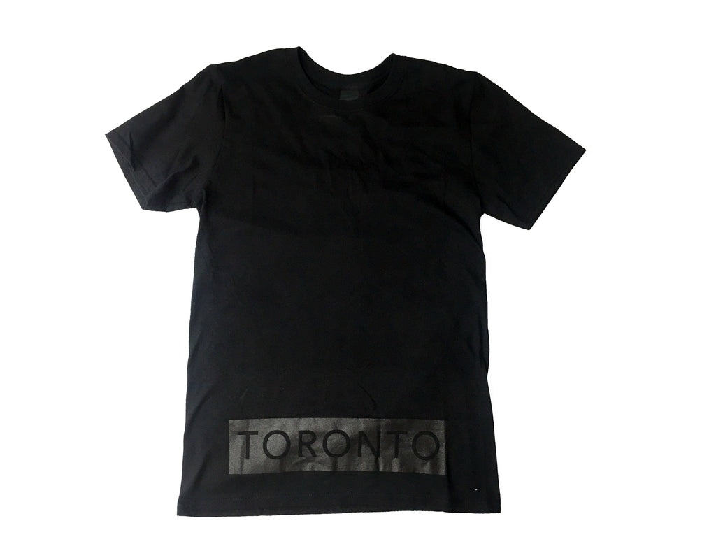 Black on Black Toronto Underground T-Shirt - Underground Gear Shop