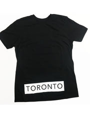 White on Black Toronto Underground T-Shirt - Underground Gear Shop