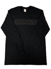 Black on Black Long Sleeve T-Shirt - Underground Gear Shop