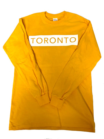 Yellow Long Sleeve T-Shirt - Underground Gear Shop