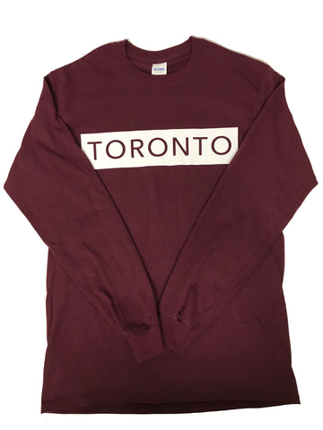 Maroon Long Sleeve T-Shirt - Underground Gear Shop