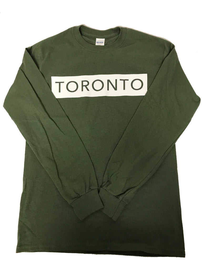 Military Green Long Sleeve T-Shirt - Underground Gear Shop