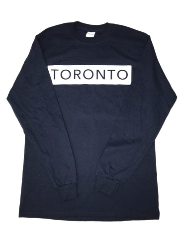 Navy Blue Long Sleeve T-Shirt - Underground Gear Shop