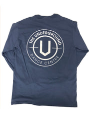 Indigo Long Sleeve T-Shirt - Underground Gear Shop