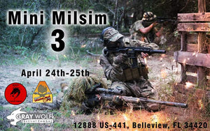 Mini Milsim 3 ticket