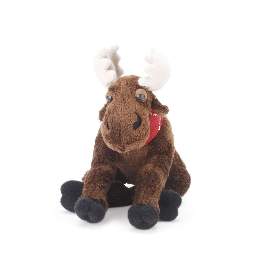 Mortie Mini Stuffed Moose Plush