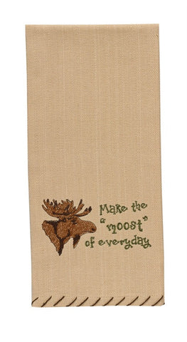 Make the Moost of Everyday Moose Dish Towel