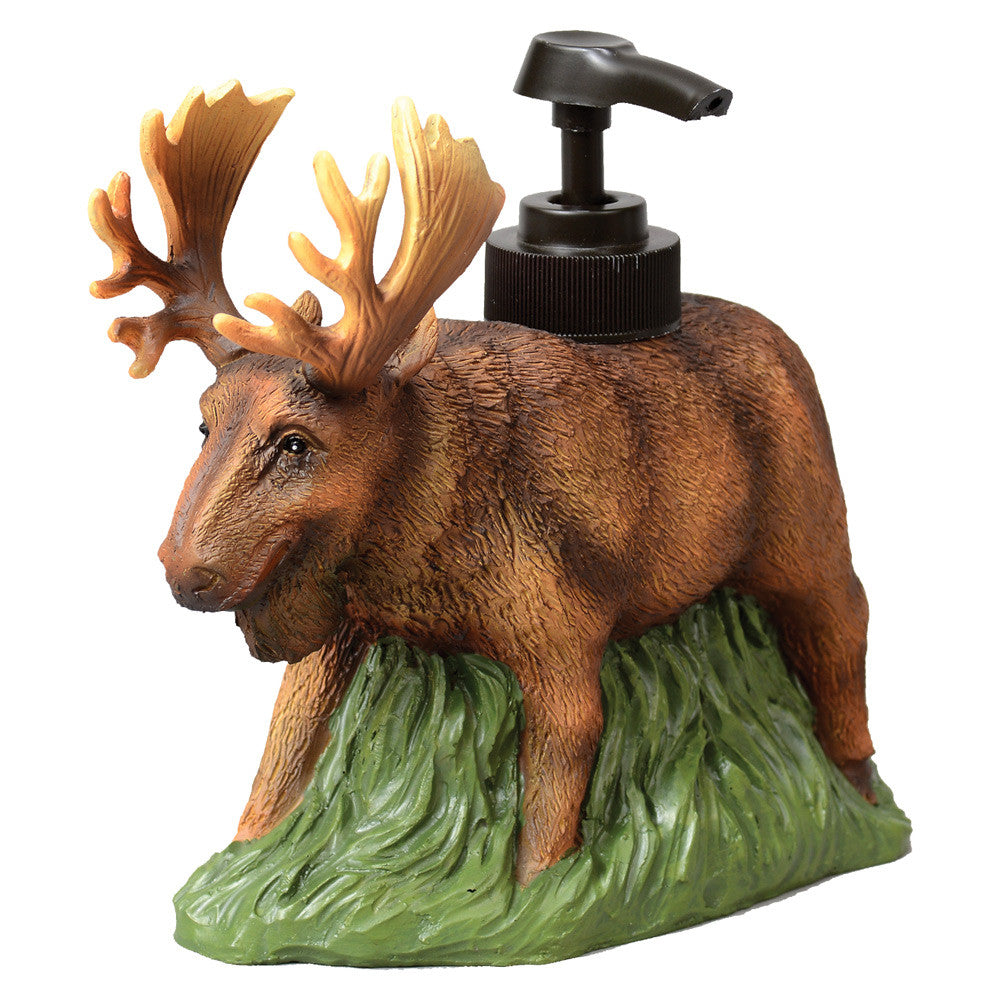 Moose Soap or Lotion Dispenser