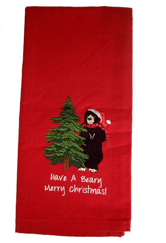 Have a Berry Merry Christmas Dish Towel