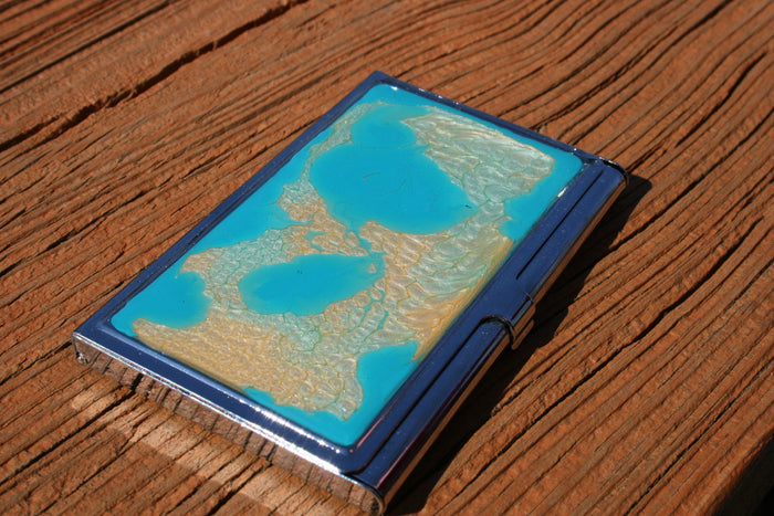 Paradise Island- Business Card Case - BC44