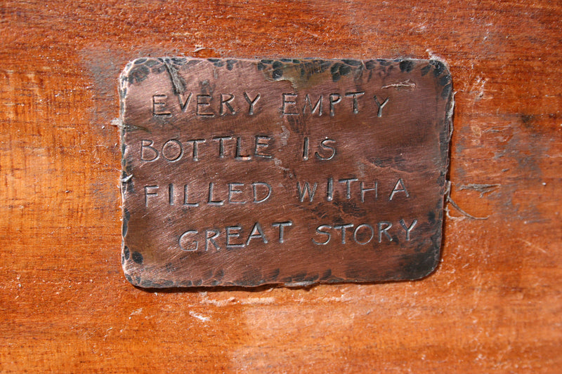 Every Empty Bottle is Filled with a Great Story - tb33