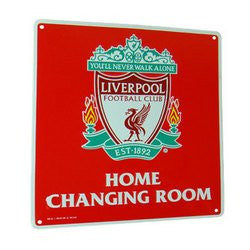 Liverpool F.C. Home Changing Room Sign