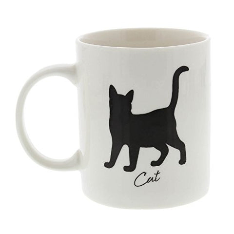 Best Of Breed CAT Silhouette Typography Style Mug