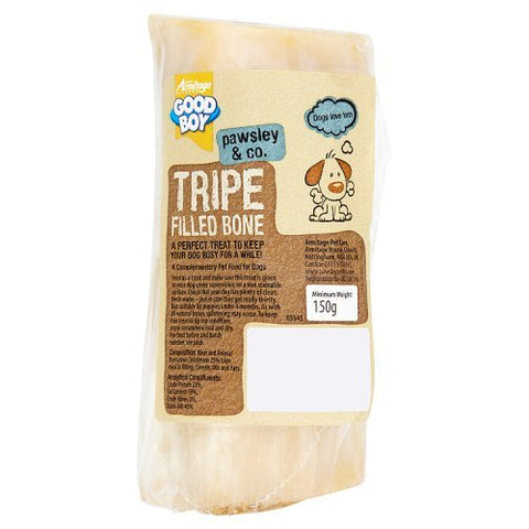 Good Boy Tripe Calcium Filled Dog Bones, 150g
