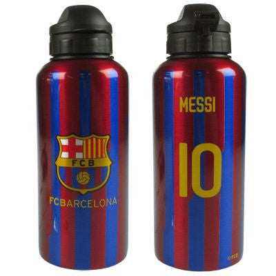 F.C. Barcelona Aluminium Drinks Bottle - Stripe