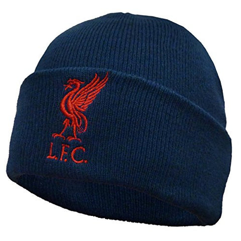 Liverpool Cuff Knitted Hat - Navy