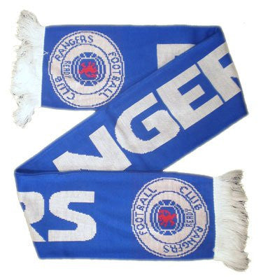 Rangers F.C. Jaquard Scarf WH