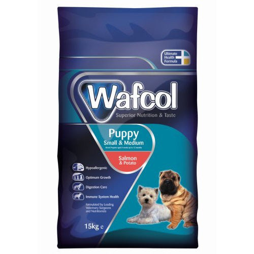 Wafcol Puppy Small/Medium Breed Salmon & Potato » 15Kg