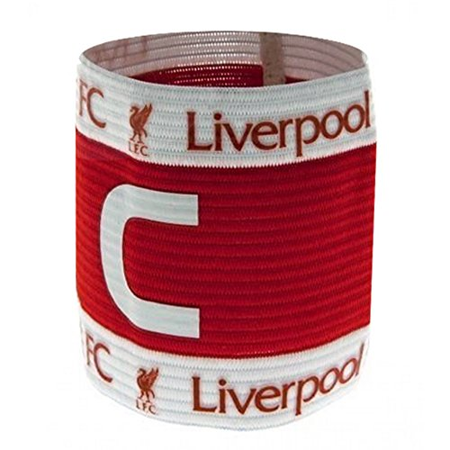 Liverpool Captains Armband - Red/White
