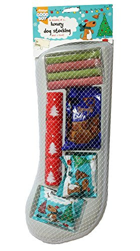 Good Boy Luxury Dog Christmas Stocking
